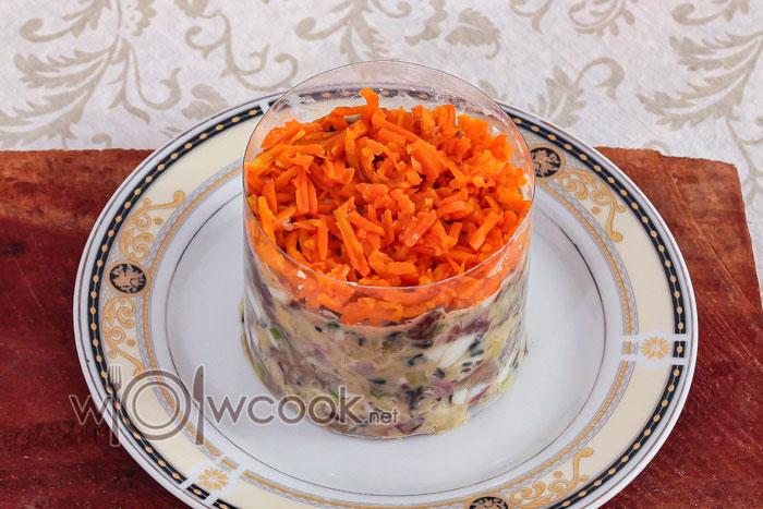 слой мморкови