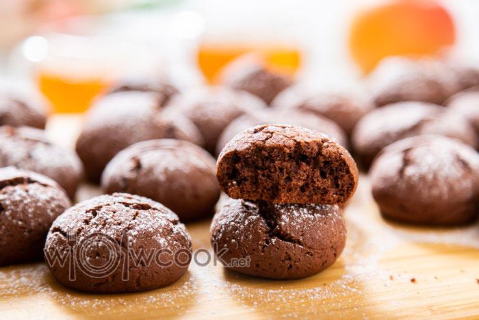 простой рецепт шоколадного печенья в домашних условиях