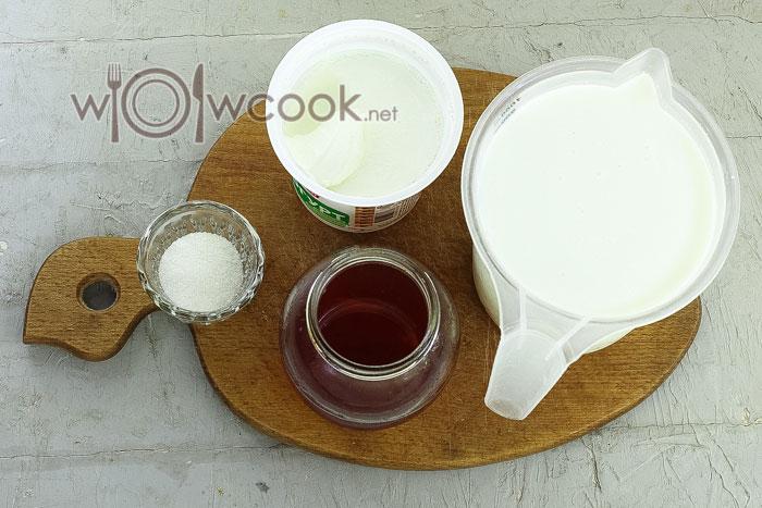 ингредиенты для домашнего йогурта