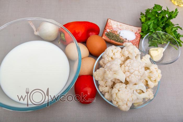 ингредиенты для запеканки