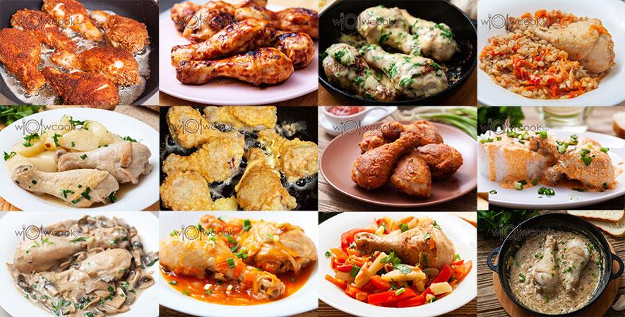 рецепты куриных ножек на сковороде